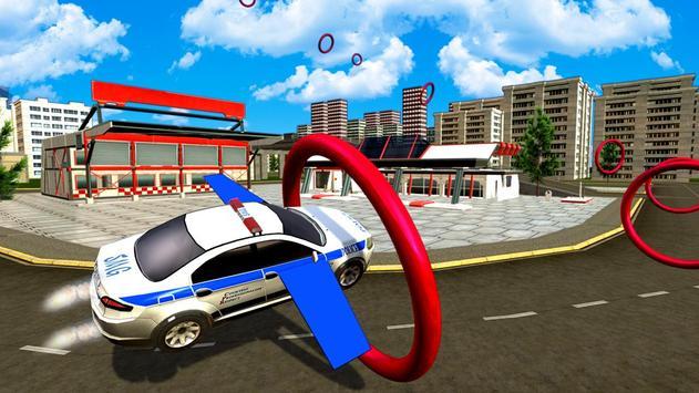 Flying Police Car Evolution poster