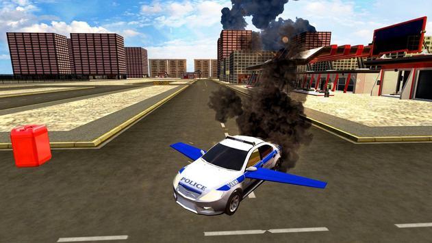 Flying Police Car Evolution apk screenshot