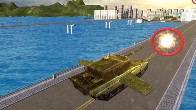 Flying Army Tank Simulator apk screenshot