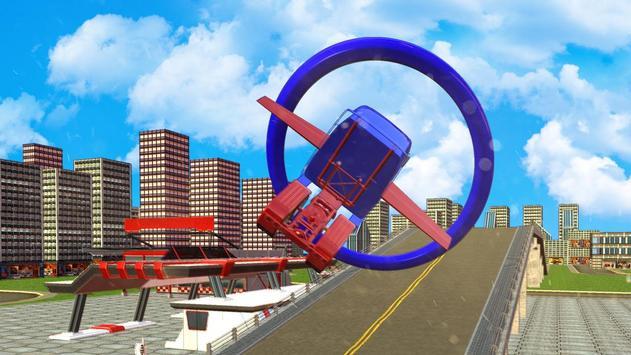 Flying Grand Truck Simulator poster