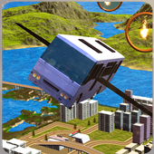 Flying World Bus Hill Drive icon