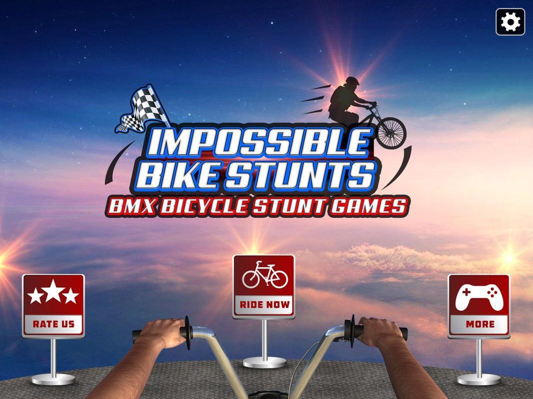 ... Impossible Bike Stunts : BMX Bicycle Stunt Games screenshot 9 ...