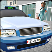 NY City Taxi Driver Game 2017 icon