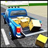City Truck Drive: A Pickup Truck Driving Simulator icon