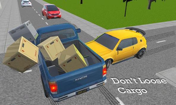 City Truck Drive: A Pickup Truck Driving Simulator poster