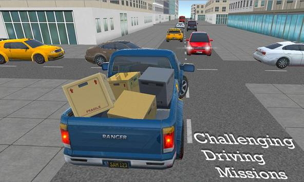 City Truck Drive: A Pickup Truck Driving Simulator apk screenshot