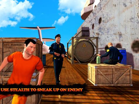 Prison Escape Airplane Carrier apk screenshot