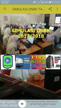 SIMULASI UNBK 2017-2018 poster
