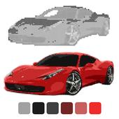 Car Coloring by Number: Sandbox Coloring icon