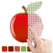 Sandbox Coloring of Pixel Picture: Color by Number icon
