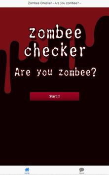 Zombee Checker ! party app. apk screenshot