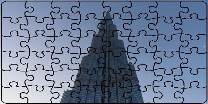 Dubai Puzzle poster