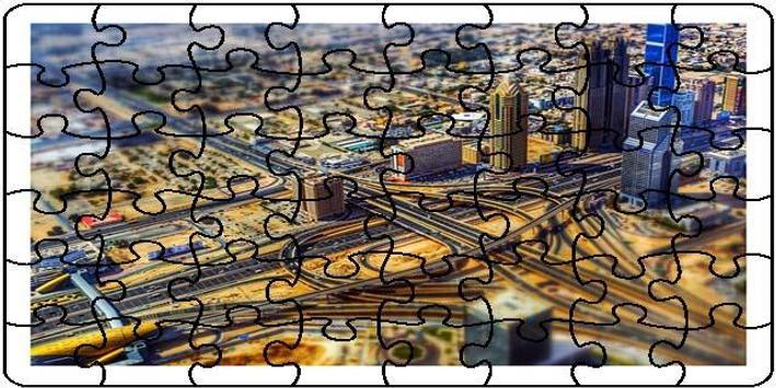 Dubai Puzzle screenshot 1