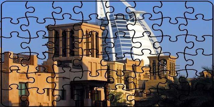 Dubai Puzzle screenshot 3