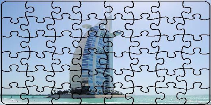 Dubai Puzzle screenshot 9