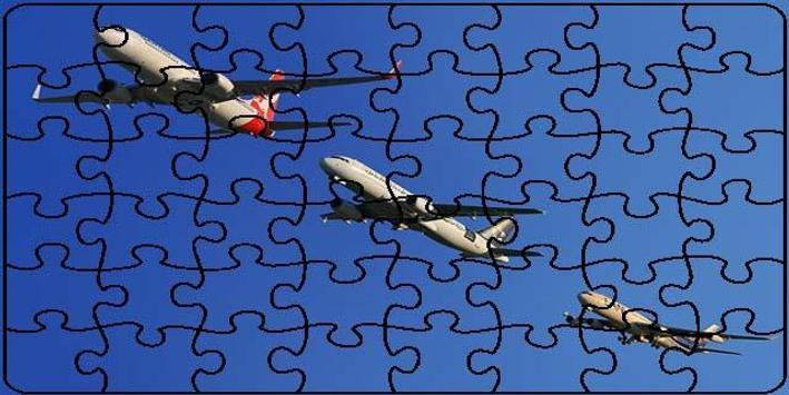 Planes Puzzle poster