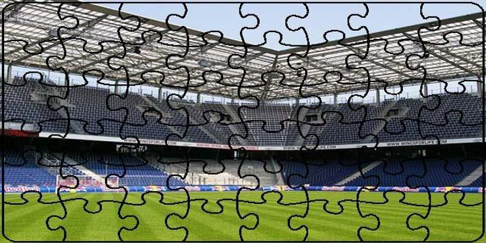 Stadiums Puzzle poster