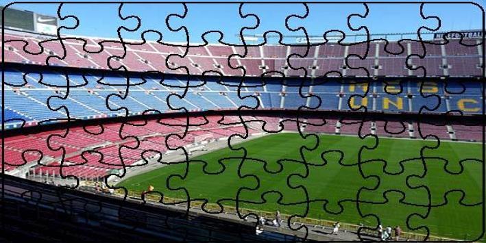 Stadiums Puzzle screenshot 1