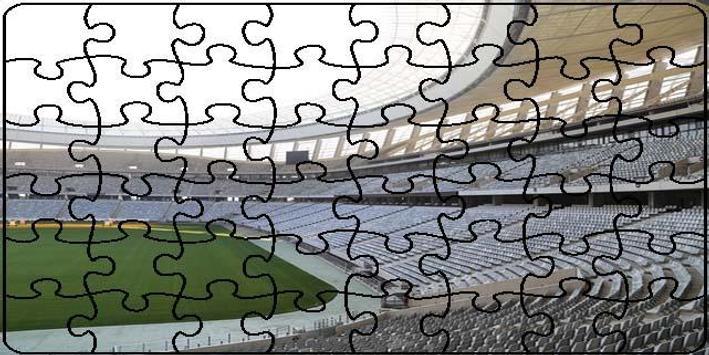 Stadiums Puzzle screenshot 2