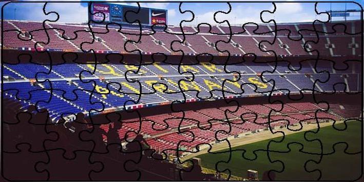 Stadiums Puzzle screenshot 4
