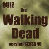 Quiz Walking Dead ver season5 icon