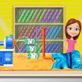 Girls Garment Cloth Factory: Tailor Boutique Shop icon