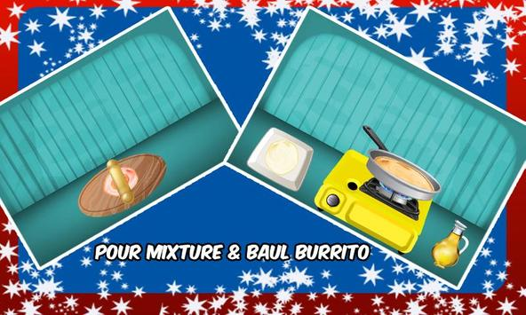 Burrito Maker & Cooking poster
