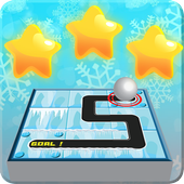 Unblock And Slide The Ice Ball icon