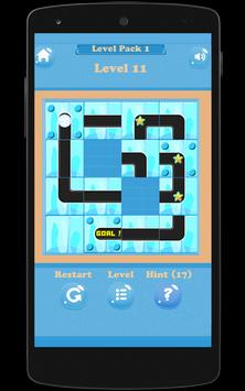 Unblock And Slide The Ice Ball screenshot 1