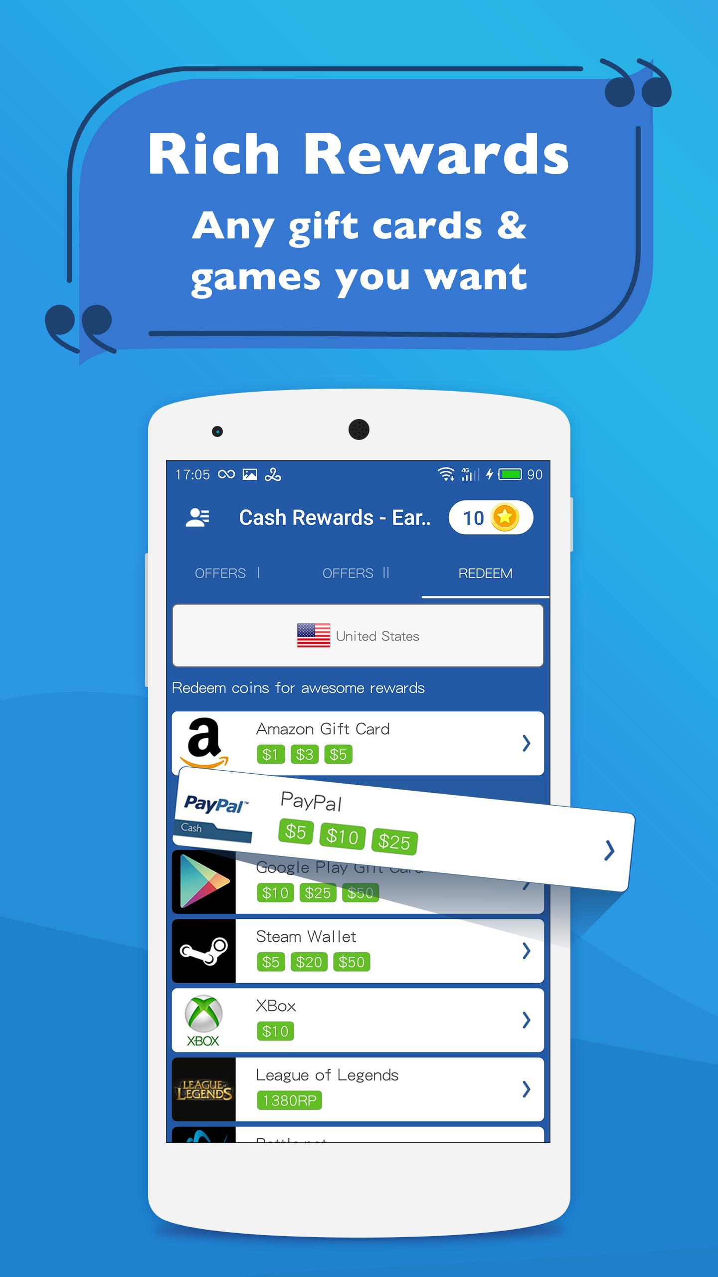 Cash Rewards Earn Free Money For