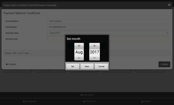 SmithCart POS apk screenshot