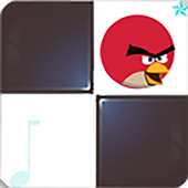 Angry Piano tiles icon