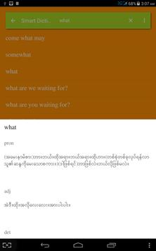Smart Dictionary apk screenshot