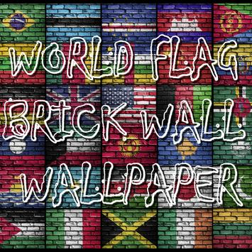 World Flags Brick Wall Wallpaper For Android Apk Download