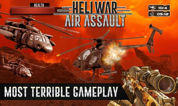 US Army Heli War Air Assault apk screenshot