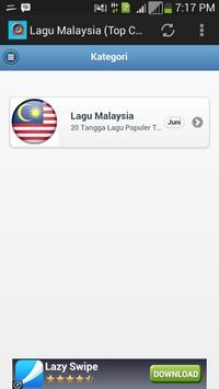 Lagu Malaysia (Top Chart) screenshot 1