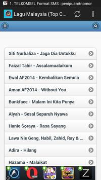 Lagu Malaysia (Top Chart) screenshot 2