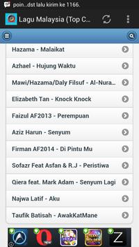 Lagu Malaysia (Top Chart) screenshot 3