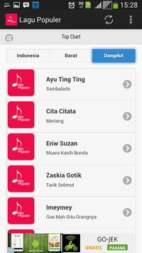 Lagu Populer screenshot 3