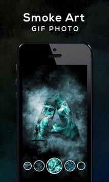 Smoke Art GIF Photo screenshot 4