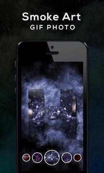 Smoke Art GIF Photo screenshot 5