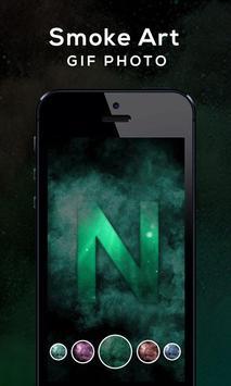 Smoke Art GIF Photo screenshot 3