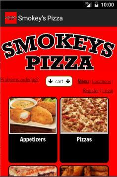 Smokey's Pizza poster