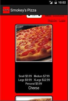 Smokey's Pizza apk screenshot