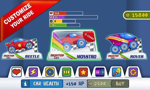 Desktop Racing screenshot 4