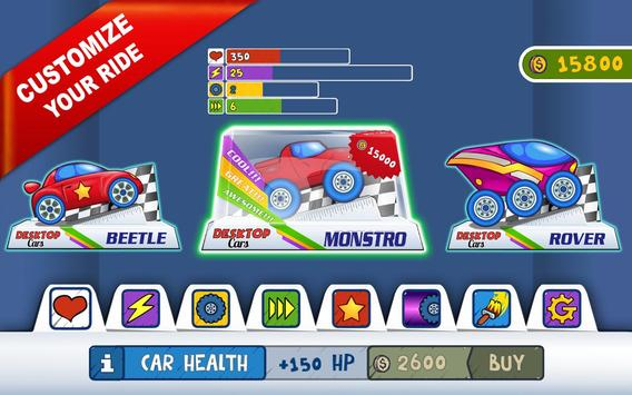 Desktop Racing screenshot 7