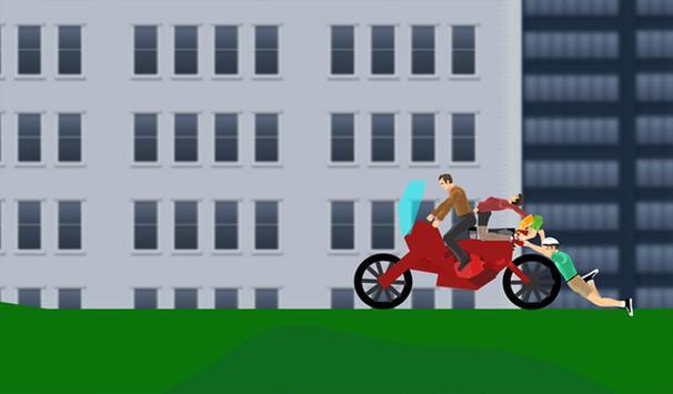 Happy Wheel screenshot 2
