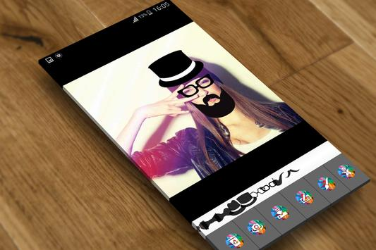 Hipster Photo Sticker apk screenshot