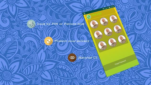 Modi Theme Applock screenshot 1