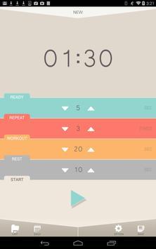 Interval Timer, HIIT Timer apk screenshot